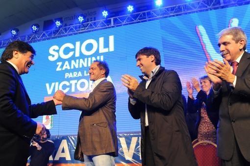 Scioli en Tandil