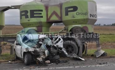 Fatal accidente en el km 156 de la Ruta 3: Falleció el conocido futbolista tandilense Matías Lecuona