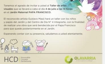 Bendición Papal para una obra artística