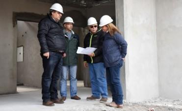 En Villa Mailín avanza la construcción del edificio para el Servicio Territorial