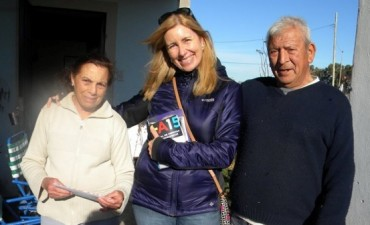 Candidatos massistas recorren barrios