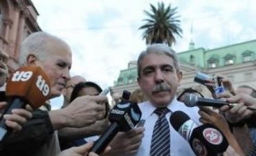 Aníbal Fernández dijo que hay que tener cuidado al opinar en conflictos como el de Azul