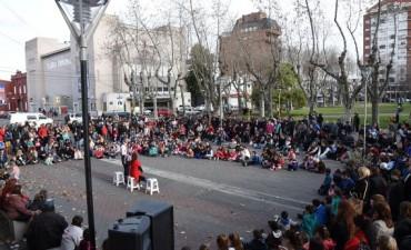 Buen marco de público para el Festival de Circo Callejero