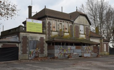 Comenzaron los trabajos en el edificio de la ex estación El Provincial