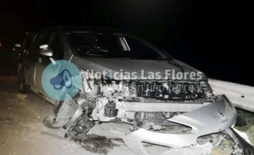 Otro accidente en Ruta 3 involucró a un vehículo que había salido desde Olavarría