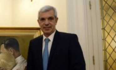 Julián Domínguez visita Olavarría
