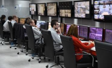 Trabajos de mejoramiento en las instalaciones del Centro de Monitoreo Municipal