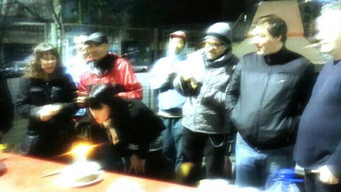 Cocineros de la calle en LU32