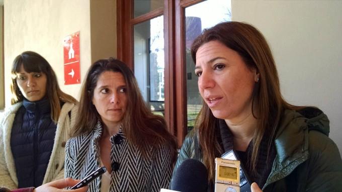 Promocionan el plan contra la violencia de género de Vidal en Olavarría