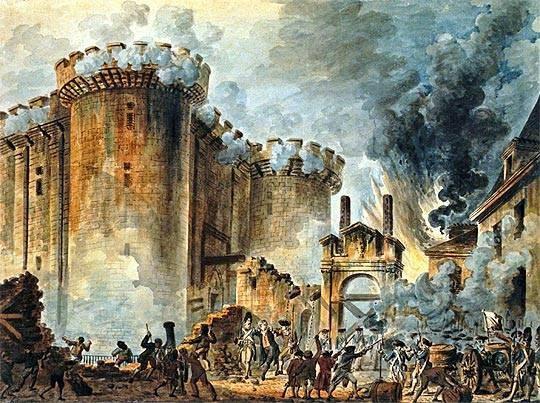 Acto por los 277 años de la Revolución Francesa