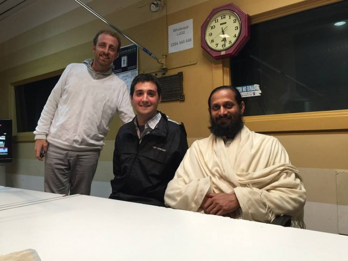 Swami Paramtej pasó por Radio Olavarría