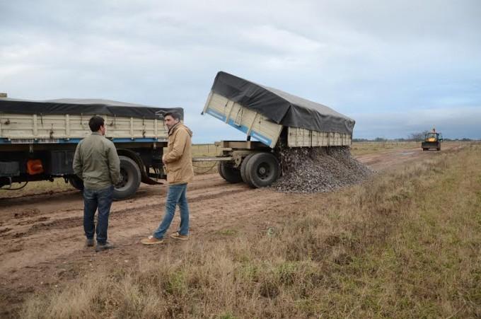 Reparación y mantenimiento de los caminos rurales del Partido