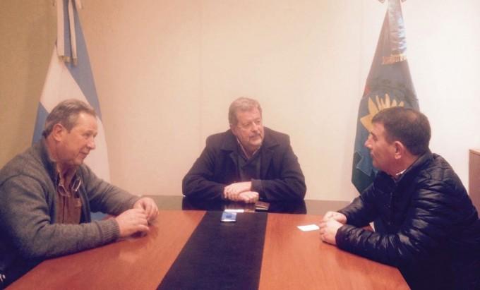 Azul: Bertellys se reunió con el ministro de Producción de la Provincia