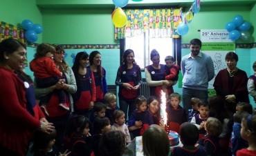 Galli participó del aniversario de los Jardines Maternales Municipales