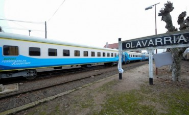 Trenes: Olavarría continuaría con servicios pese a la suspensión de Ferrobaires