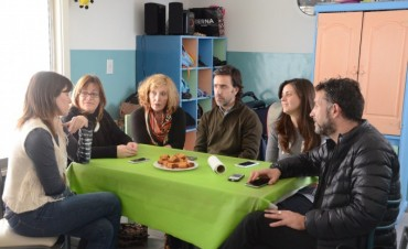 Pablo Villegas visitó los Hogares Municipales