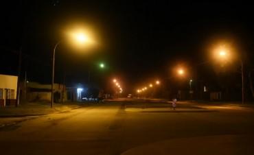 Olavarría iluminada: se instalan más de 1200 luminarias nuevas