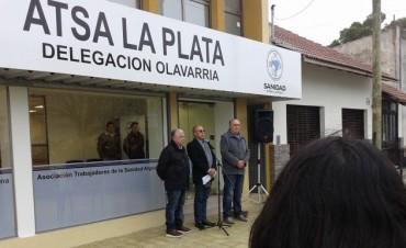 ATSA Olavarría inauguró su sede propia