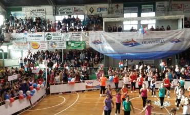Más de mil personas disfrutaron del segundo encuentro regional de mini gym