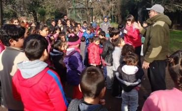 Actividades al aire libre para los chicos de los Centros de Día Municipales