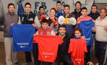 Fuerte apoyo al boxeo en los barrios