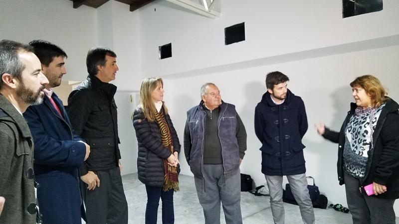 Esteban Bullrich y Gladys González pasaron por Olavarría