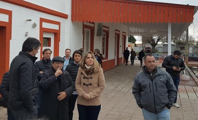 El Intendente Cellillo  junto a Bullrich y González