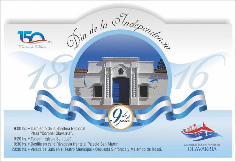 Este domingo se celebra el Día de la Independencia