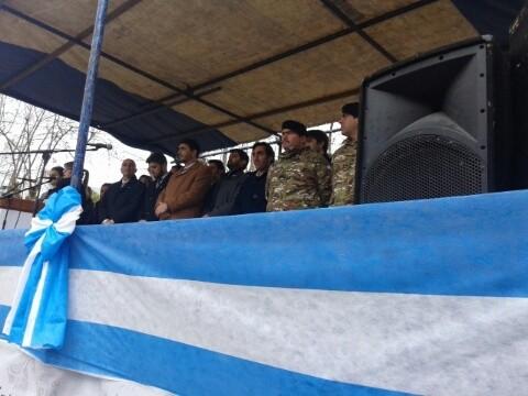 Con un desfile cívico-militar se celebró el Día de la Independencia