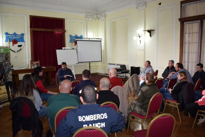 Alvear: Defensa Civil realizó importante capacitación en la Municipalidad