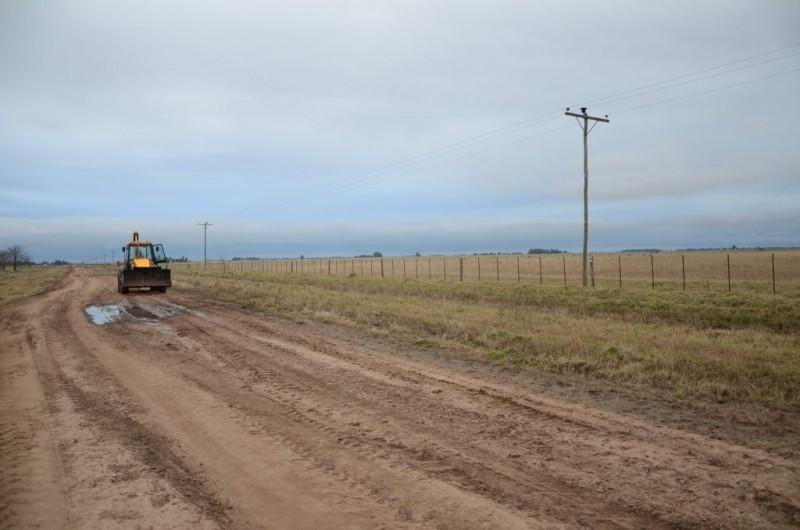 Se solicita no transitar por caminos rurales durante los días de lluvia