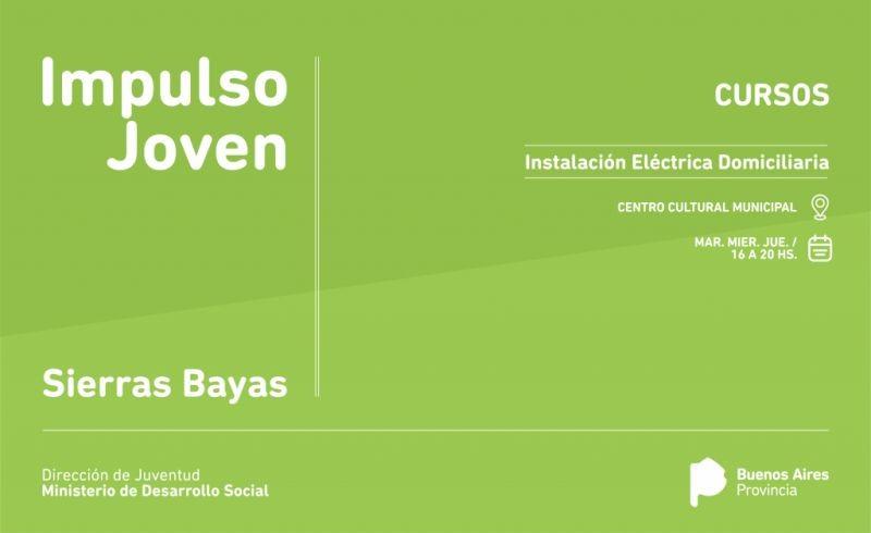 Impulso Joven: inscripción para el curso en Sierras Bayas