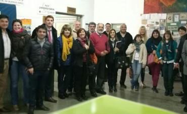 Funcionario provincial de Educación de Adultos visitó Olavarría