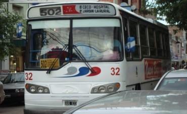 Transporte Público: Recortan servicios de la empresa urbana
