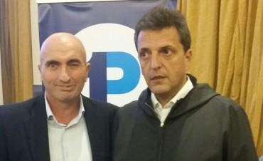 Eduardo Rodríguez estuvo con Sergio Massa en Mar del Plata