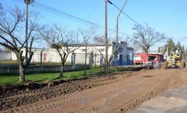 En el barrio Belén comenzaron distintas obras