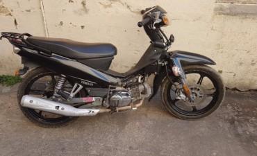 Recuperan una motocicleta con pedido de secuestro activo