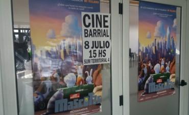 Cine barrial en el Servicio Territorial N° 4