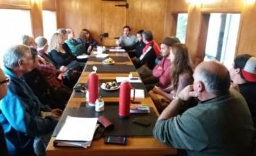 Reunión con referentes del turismo sierrabayense
