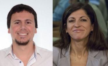 La precandidata y economista Fernanda Vallejos en Olavarría