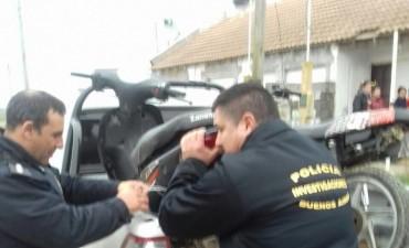 Desbaratan banda que robaba y comercializaba motos en Olavarría y Azul