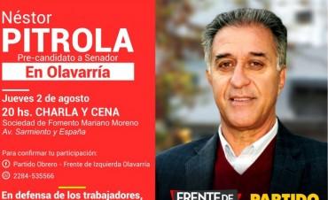 Néstor Pitrola visitará Olavarría