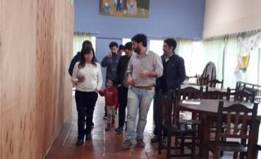Pablo Juliano, precandidato a Diputado Nacional por Cambiemos, visitó Olavarría
