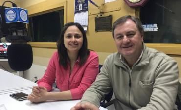 Omar Duclos y Fernanda Araneo acercaron sus propuestas a los oyentes