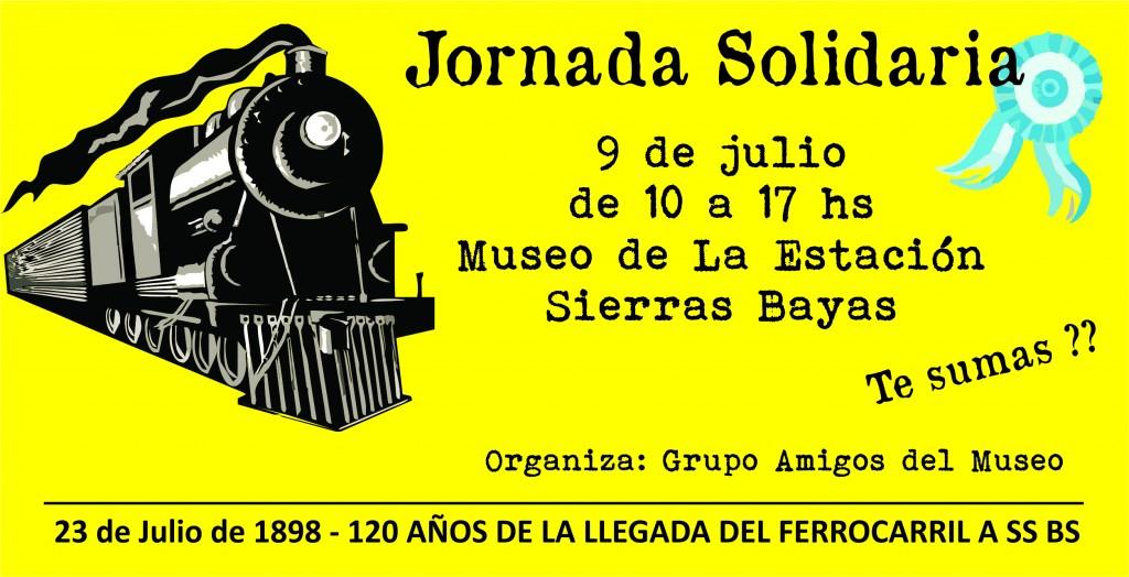 Jornada solidaria en el museo de la Estación de Sierras Bayas