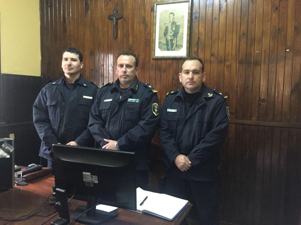 Cambios en las jefaturas policiales