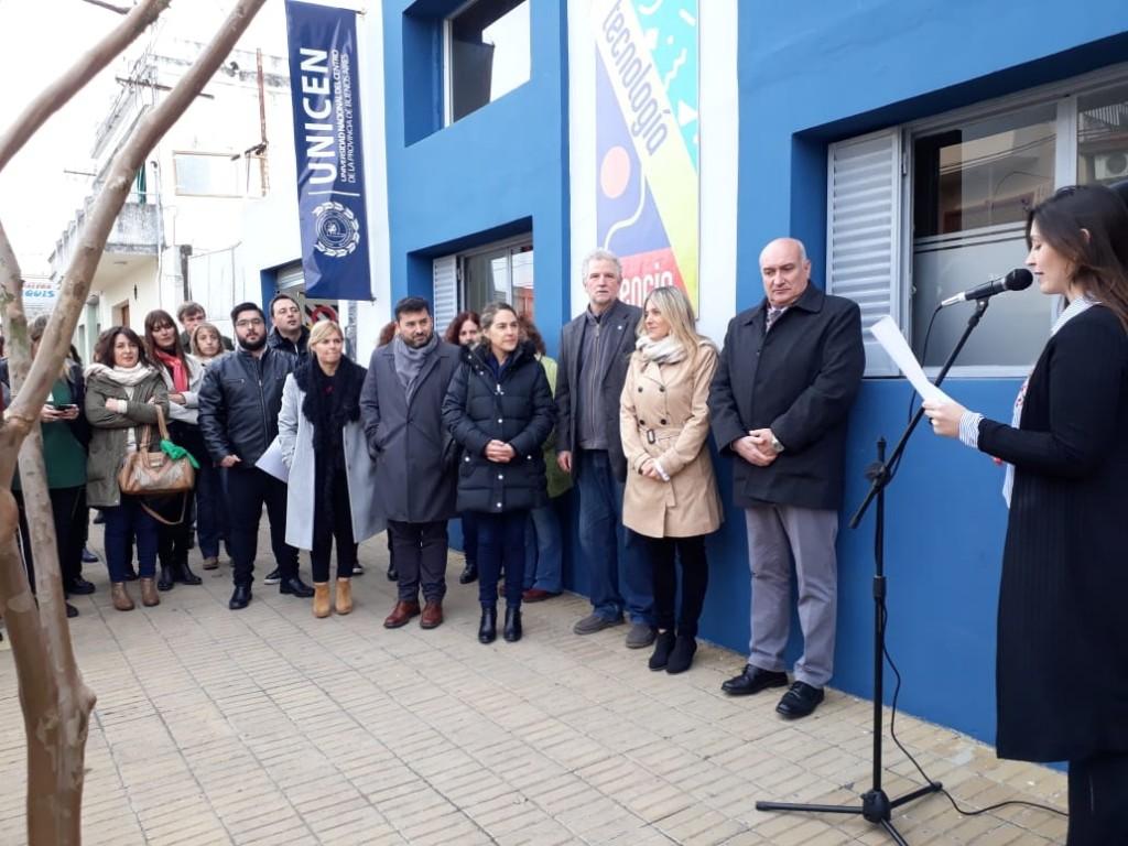 Quedó inaugurado el Centro Cultural Universitario de Olavarría