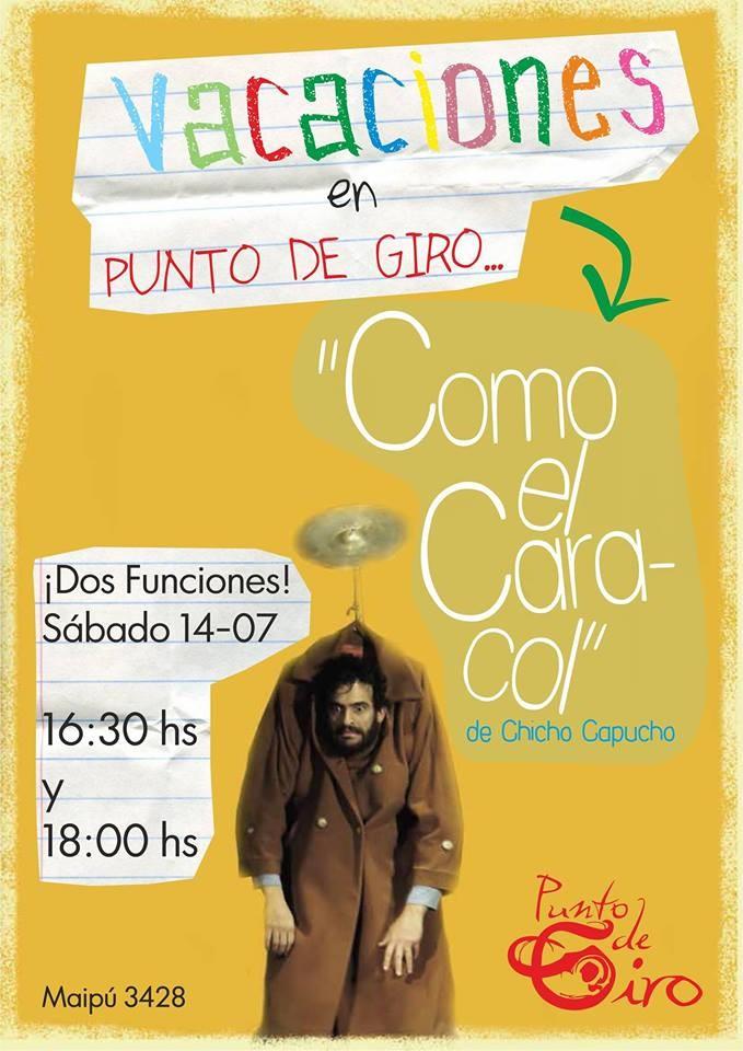 Chicho Capucho en Punto de Giro presenta