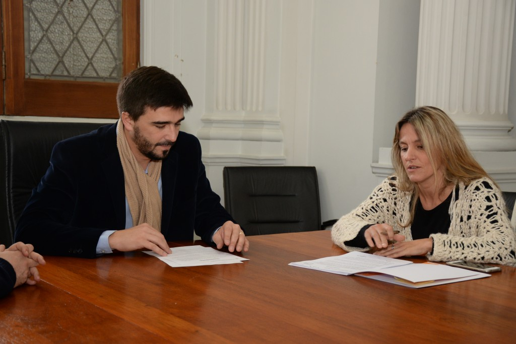 El Municipio y la Facultad propician acciones conjuntas en materia de inclusión tecnológica
