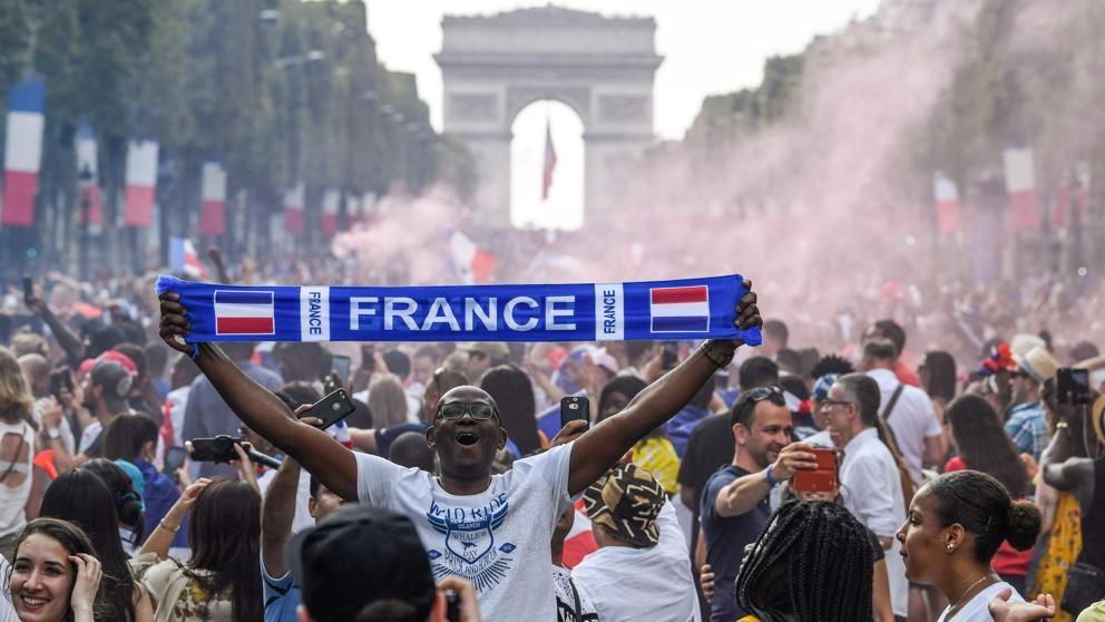 Francia Campeón: 'Le ha servido a Macron para darle un aire fresco'